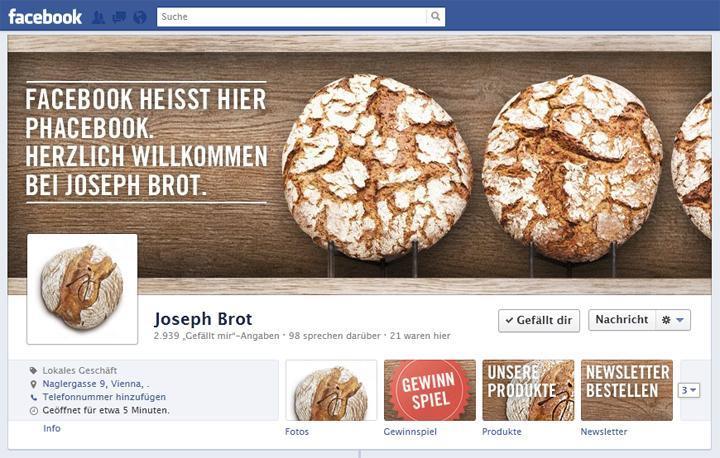 Joseph Brot goes Facebook-Timeline