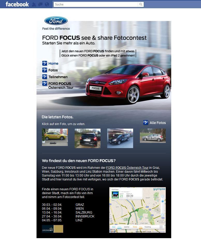Ford Focus im Auftrag von Mindshare