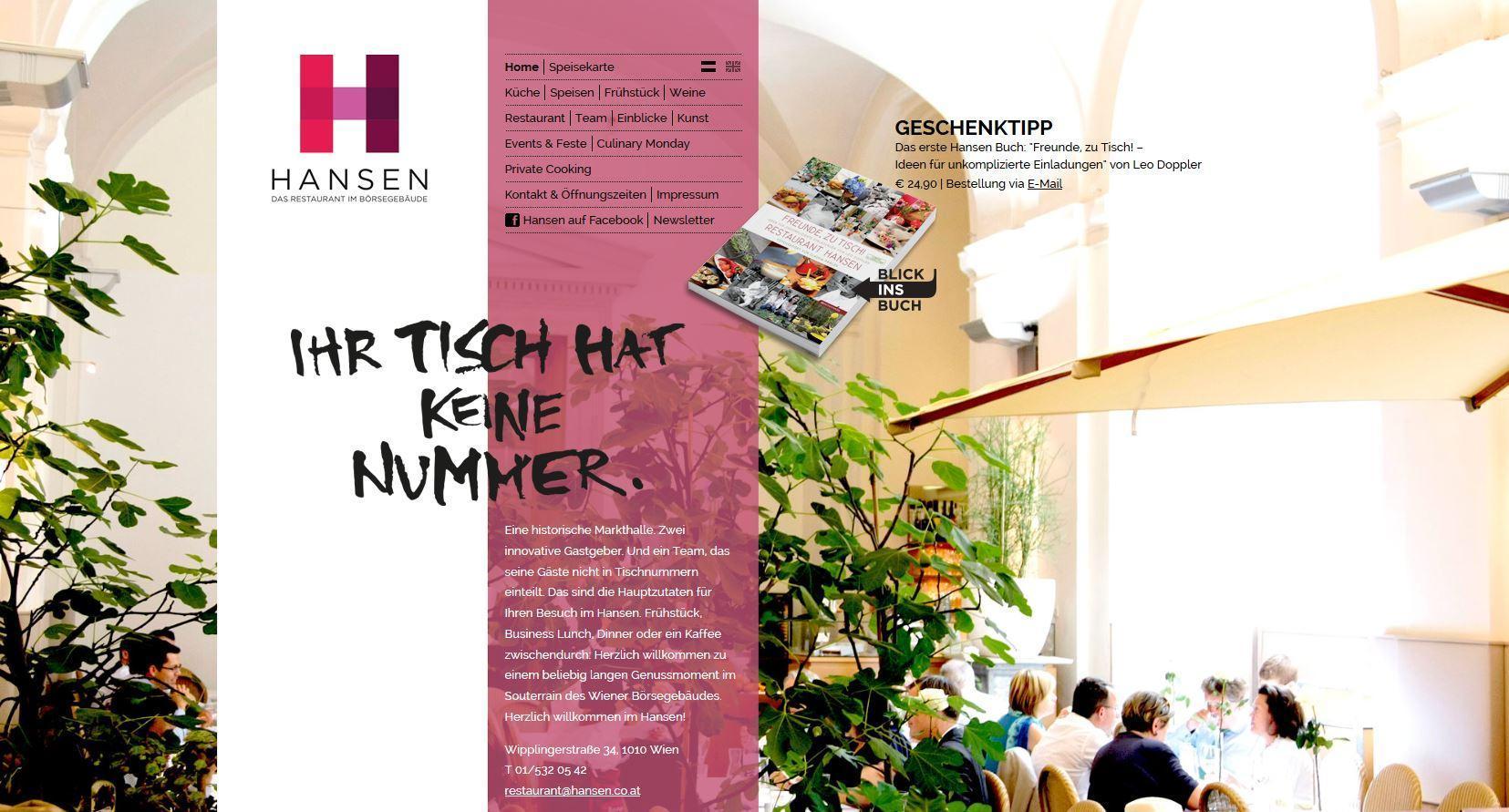 Restaurant Hansen